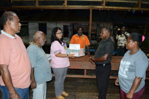 Penyerahan ADD Tahap III Kampung Yoboi Tahun 2019