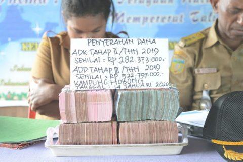 Dana ADK Tahap II dan Dana ADD Tahap III tahun 2019